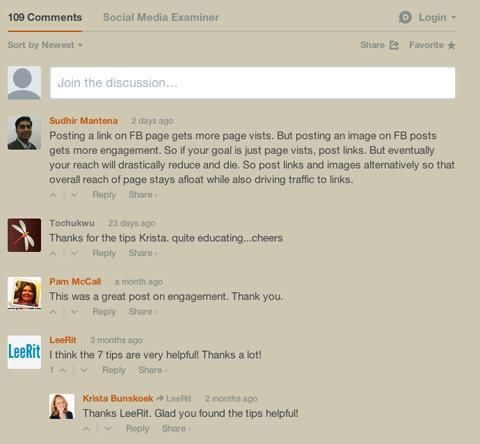 Подключение удобной системы добавления комментариев